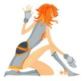 Девушка с проблемой joints-1 Стоковые Фотографии RF