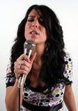 Девушка с черными волосами стоковые изображения rf