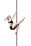 Девушка танца поляка Стоковое фото RF