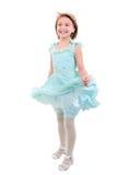 девушка танцы немногая Стоковое фото RF