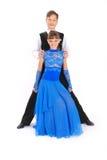 девушка танцы танцульки мальчика бального зала Стоковые Фото