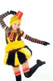 девушка танцы стоковая фотография rf