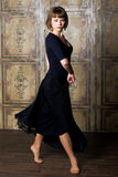 девушка танцы Стоковая Фотография
