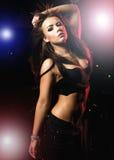 девушка танцы Стоковые Фото
