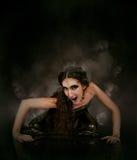 Девушка типа Medusa Стоковое Фото