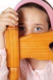 девушка трепетная стоковое изображение