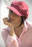 девушка ультрамодная Стоковая Фотография