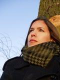 девушка унылая Стоковая Фотография RF