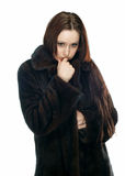 девушка унылая Стоковое Изображение