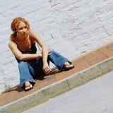 девушка урбанская Стоковые Фото