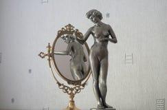 Девушка утюга Стоковые Фото