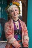 Девушка фестиваля ренессанса Аризоны Стоковые Изображения