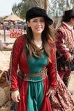 Девушка фестиваля ренессанса Аризоны Стоковая Фотография RF