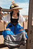 Девушка фестиваля ренессанса Аризоны Стоковые Фотографии RF