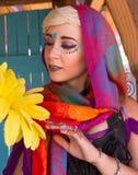 Девушка фестиваля ренессанса Аризоны Стоковое Фото