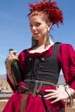 Девушка фестиваля ренессанса Аризоны Стоковые Изображения RF