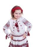 Девушка фото Ethno милая Стоковая Фотография RF
