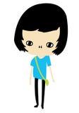 девушка характера бесплатная иллюстрация