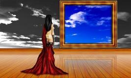 Девушка холостяка Стоковая Фотография RF