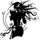 девушка цветка Стоковые Фото