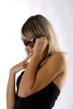 девушка шаловливая Стоковая Фотография RF