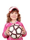 девушка шарика красивейшая немногая Стоковые Фотографии RF