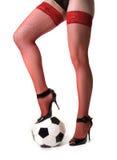 девушка шарика стоковые изображения rf