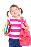 Девушка школы стоковые фото