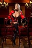 девушка штанги сексуальная Стоковая Фотография RF