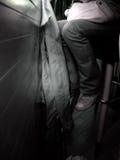 девушка штанги Стоковая Фотография RF