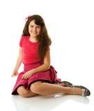 девушка 10 лет стоковая фотография