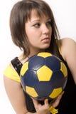 девушка 12 шариков Стоковое Изображение