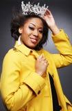 девушка 2 афроамериканцев красивейшая стоковая фотография rf