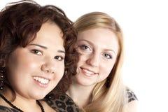 девушка 2 друзей Стоковое Изображение RF