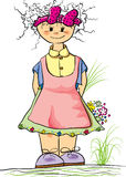 девушка Стоковые Изображения RF