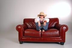 Девушка 4 хиппи Стоковое Изображение RF