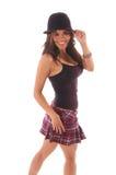 девушка 5 sassy Стоковое Фото