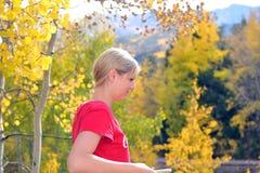 Девушка Aspen Стоковое фото RF