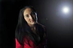 девушка backlight Стоковое Изображение RF