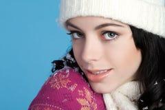 девушка beanie стоковая фотография rf