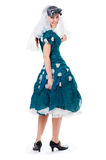 девушка costume масленицы Стоковое Изображение RF