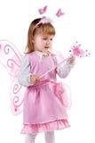 девушка costume fairy немногая Стоковое Фото