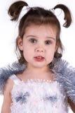девушка costume fairy немногая Стоковая Фотография