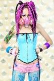 девушка dreadlocks Стоковое Изображение RF