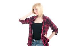 девушка fashionale подростковая Стоковые Фото