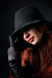 девушка gangsta Стоковое Фото