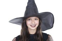 девушка halloween стороны costume Стоковые Изображения RF