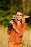 Девушка Hippie Стоковая Фотография RF