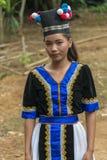 Девушка Hmong Стоковые Изображения