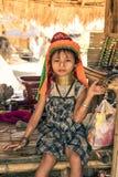 Девушка Kayan Стоковые Изображения